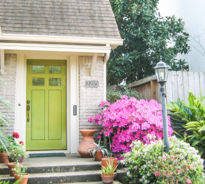 Custom doors add charm to classic homes.